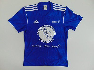 2013 Adidas Faaberg Norway away shirt jersey soccer football retro old S