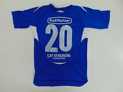 2005 2010 Umbro Kolbotn IL home shirt jersey soccer football retro old M #20