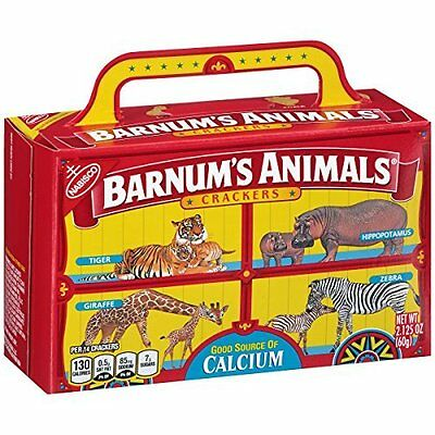 Barnum's Animal Crackers, 2.125 Ounce (Pack of 24) expires 15 sep 2017