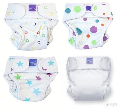 Miosoft Bambino Mio Reusable Nappy Cover Choice of Size Newborn-5kg-9kg/11-21lbs