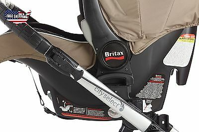 Baby Jogger 2016 City Select / Premier Car Seat Adapter - Britax Top Quality NEW