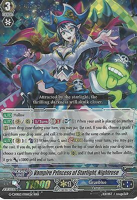 Cardfight Vanguard: Vampire Princess Of Starlight, Nightrose - G-Chb03/006En Rrr