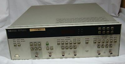 HP 8130A 300MHz High-Speed Pulse Generator Option 1X#020 Tested Working