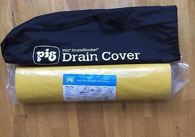"PIG  24 x 24"" DrainBlocker Cover With Carrying Bag"