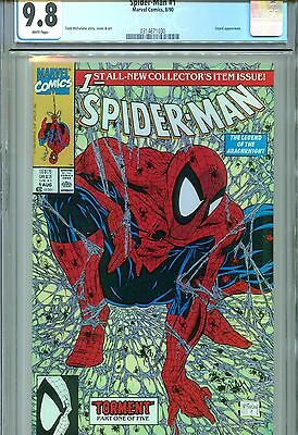 Spider-Man #1 CGC 9.8 McFarlane Cover & Art Marvel Comics 1990