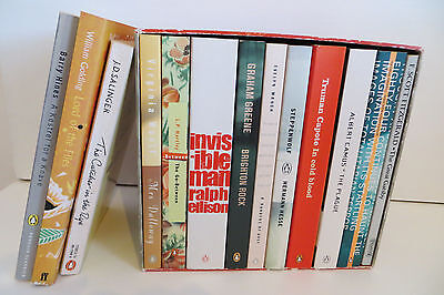 Penguin Cult Classics Book Box Set, Bundle of 13, Fiction Paperbacks Job Lot