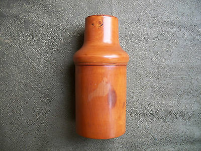 Late C19th Beech Wood  Container for a Glass Bottle.    Medical / Chemist