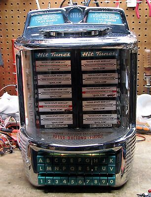 WURLITZER JUKEBOX WALLBOX 5252-RESTORED-Stock #5341-VERY RARE and HARD TO FIND!!