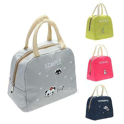 Insulated Thermal Cooler Portable Lunch Box Carry Tote Picnic Case Storage Bag