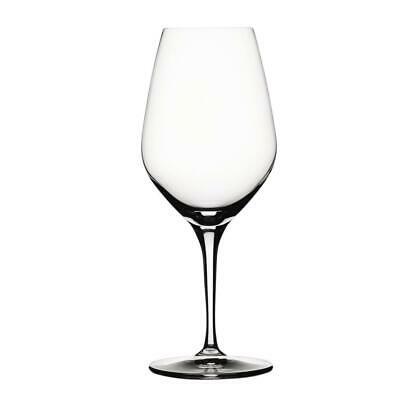 4 Spiegelau Authentis Red Wine Glasses Water Tumbler Goblet Crystal Glass 320ml