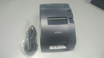 EPSON TM-U220B RECEIPT KITCHEN ORDER PRINTER Network I/F M188B WITH POWER SUPPLY