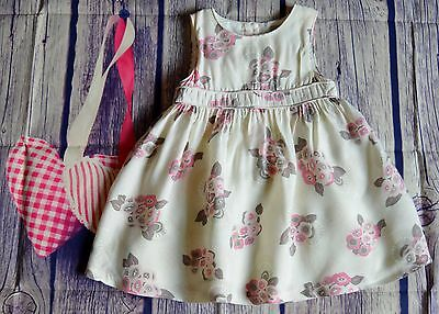 Burberry Baby Girl Designer Clothes Pretty Floral Summer Dress 2 Years Perfect