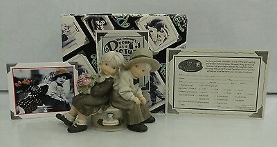 RARE w/ Box Just You and Me Always Kim Anderson 1996 Enesco Wedding Cake Topper