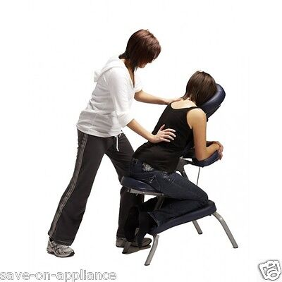 Portable Folding Massage Chair Massager Therapy Foldable Salon Tattoo Spa w/case