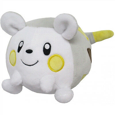 """NEW Sanei 4"""" Togedemaru PP58 Pokemon All Star Collection Sun Moon Plush Doll"""