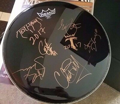 Testament band signed Drumhead