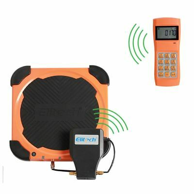 LMC-310 220 LB Wireless Refueling Electronic Refrigerant Scale For HVAC