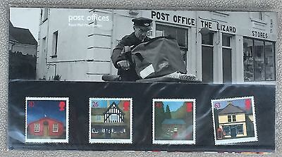 Royal Mail 1997 Britain's Post Office Stamps in Presentation Pack 4 Stamps - New
