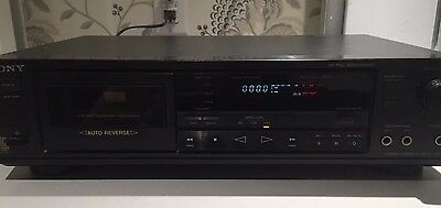 Sony Stereo Cassette Deck TC-RX420 Dolby HX PRO New Belts Working