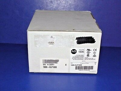 NEW IN BOX Allen Bradley 1606-XLP100E Series A  AC/DC Power Supply