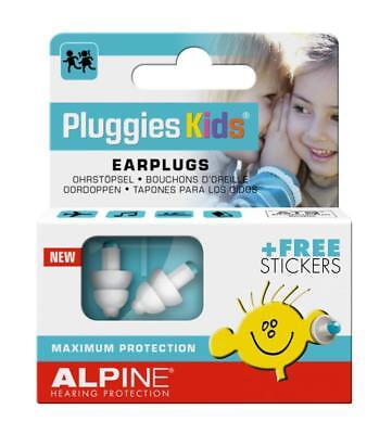 New Alpine Pluggies Kids Earplugs