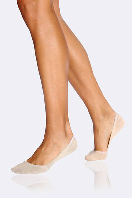 Boody Bamboo Eco Wear Women's Low Hidden Socks in Nude - Size 3-9