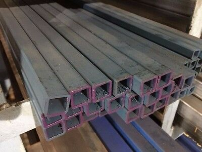 STEEL SQUARE TUBE SHS RHS 20mm X 20mm X 1.6mm X 6.5MTR