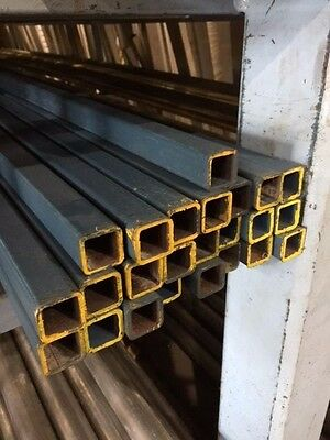 STEEL SQUARE TUBE SHS RHS 25mm X 25mm X 2mm X 6.5MTR