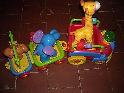jouet 1er age train des animaux fisher price