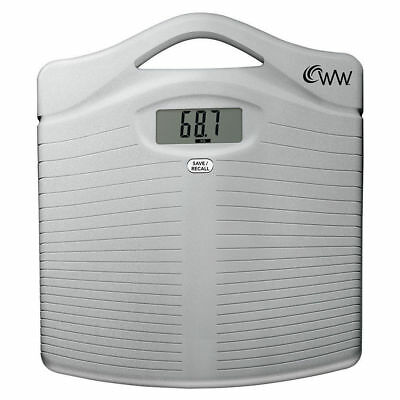 Weight Watchers WW11A Compact Precision Electronic Scale for Bathroom/Body