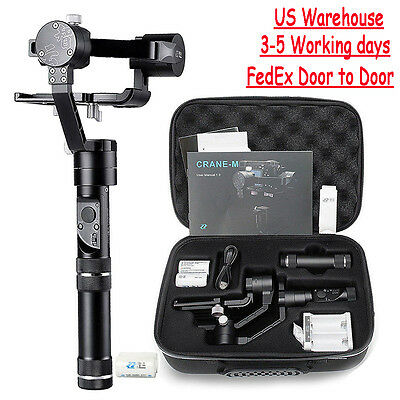 Zhiyun Crane-M 3Axis Handheld Gimbal Video Stabilizer for Mirrorless DSLR Camera