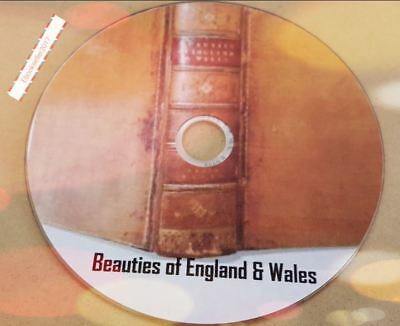 ebooks: Beauties of England & Wales History Topographical scanned to Pdf on disc