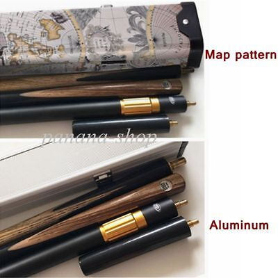 Professional 3/4 Joint Snooker Cue 3 Piece Pool & Case Ash Wood Snooker Cues New