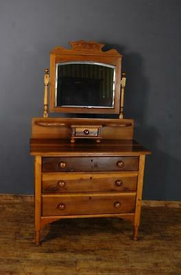 Vintage Pine Dressing Table/Chest