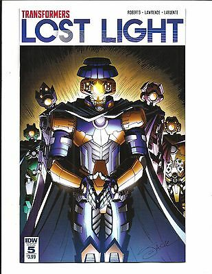 TRANSFORMERS: LOST LIGHT # 5 (APR 2017), NM NEW (Bagged & Boarded)