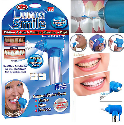 Electric Dental Teeth Cleaning/Oral/Tool/Tooth Polisher/Stain Plaque Remover