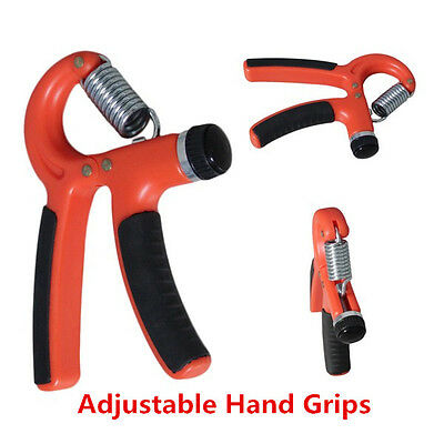 Wrist Hand Forearm Gripper Grip Power Strength Training Gym Exercise Fitness XP