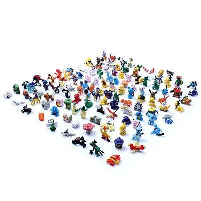 120pcs Pokemon Mini figure 2-3cm Action Figures in Cute Toys Random FT