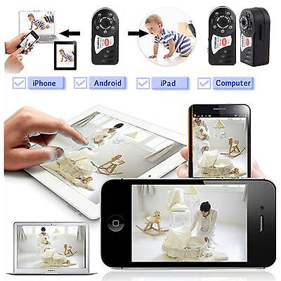 Mini WIFI/IP Wireless Hidden Cam Remote Surveillance DV Security Micro Camera XP