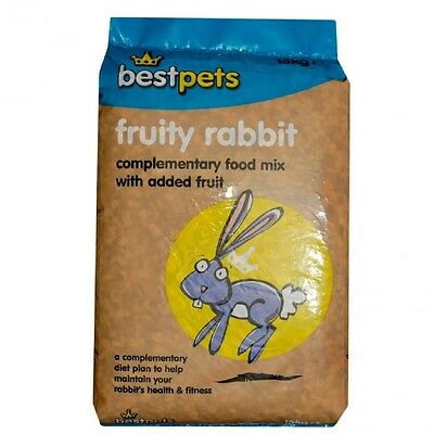 FRUITY RABBIT MIX Dried Banana Food Feed 5kg