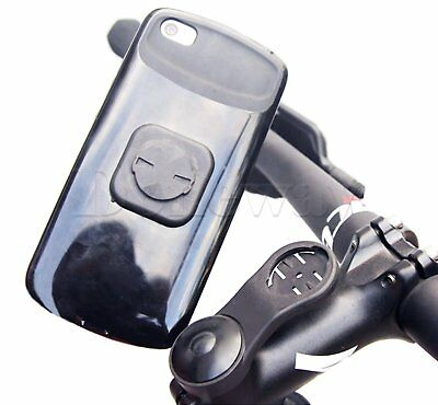 Bike Stem Computer Mount with Phone Stick Adapter For Garmin 1000 800 500 GPS