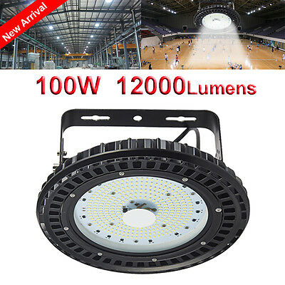 LED 100W High Bay Light Warehouse Industrial Factory Commercial Lamp UFO IP65 AU