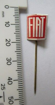 Vintage 70's Collectable Stick Pin Lapel Badge Fiat