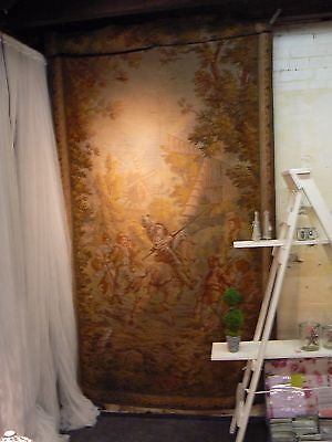 Stunning Antique Mid 19Th C. Extremely Large French Tapestry Don Quixote  A/f
