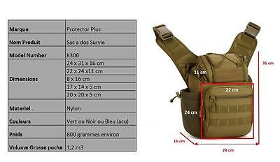 Tactical Shoulder Saddle Bag Rucksack Backpack Camera Military Cycling Outdoor