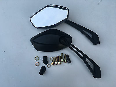 Brand New A Grade E Marked Mirrors For Yamaha Fz1 Fz8 Fz6 10Mm