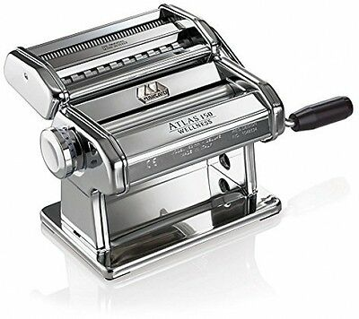 Pasta Machine Marcato Atlas 150 Chrome, Silver Wellness