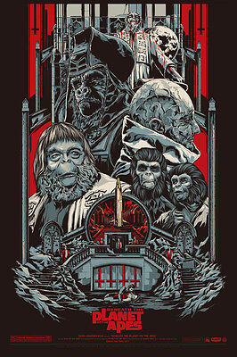 PLANET OF THE APES-Most amazing art silk poster 24x36 inch