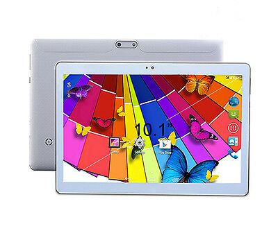 Tablet 10 pulgadas Octa Core 4 GB de RAM, Android, Cámara Color Blanco