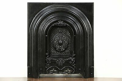 Victorian 1860's Architectural Salvage Antique Fireplace Summer Cover